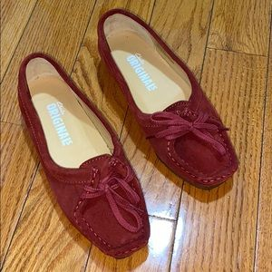 Clarks Women's Wallabee Chic Slip-On Loafer